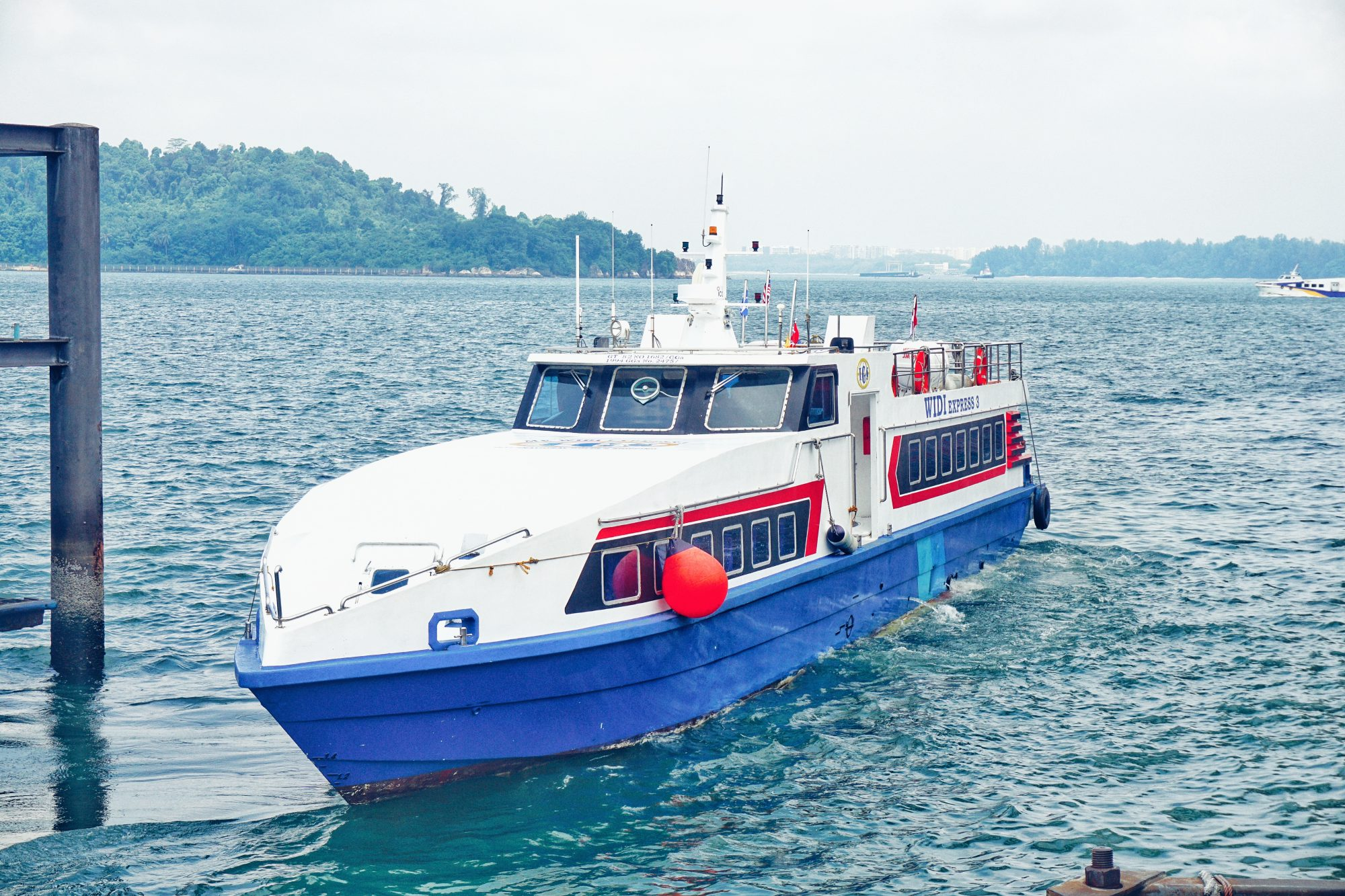 Pasir Gudang Ferry Terminal From Pasir Gudang To Batam